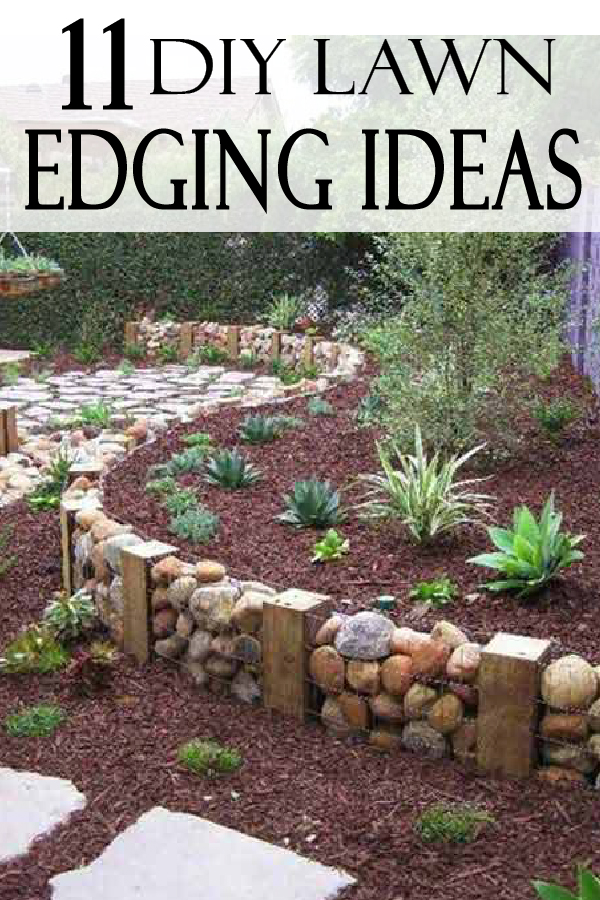 UPGRADE your yard with these beautiful lawn edging ideas you can do yourself. Lets do this!!