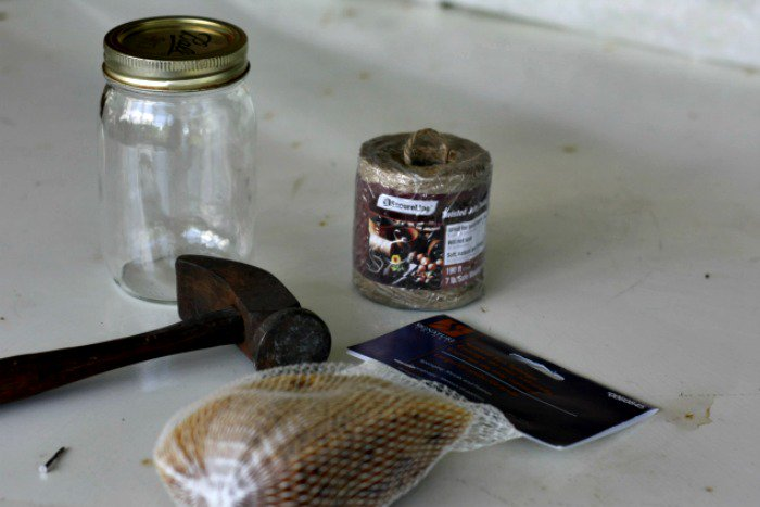 How to Make A DIY Butterfly Feeder | Here's how to make a DIY butterfly feeder that makes a wonderful addition to any garden or flower bed. This simple feeder, made from a mason jar, some twine, and a piece of sponge, will help attract these friendly insects to your garden and give them a place to refuel. | TraditionalCookingSchool.com