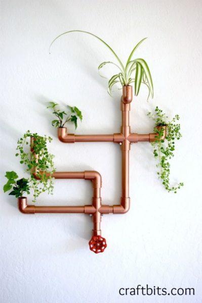 DIY PVC Indoor Gardening Planter