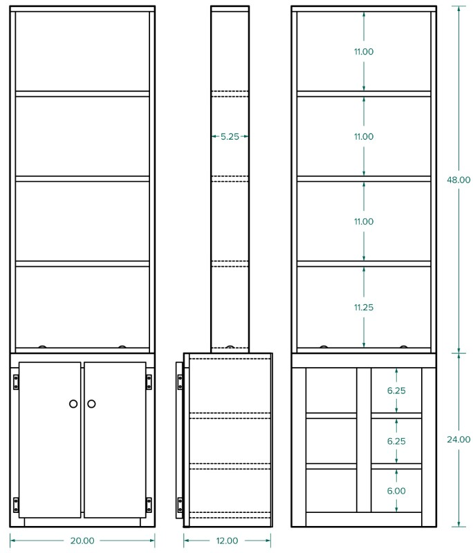 Indoor Garden Shelf Plans
