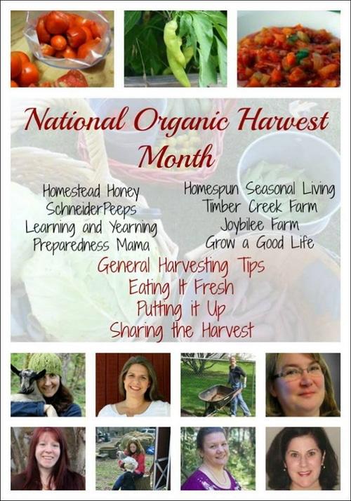 Organic Harvest 15 group
