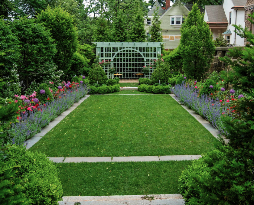 A Blade of Grass Landscaping Boston Broookline Brownstone garden