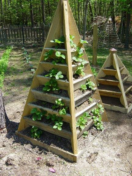 If you are not sure that you have the space to do traditional gardening, GO VERTICAL Here are some vertical gardening ideas for big and small spaces!