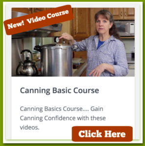 Simply Canning - Video Course Ad
